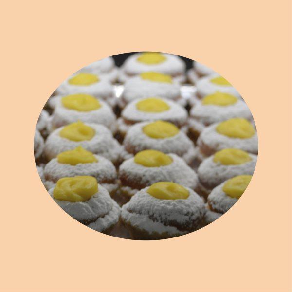 Pasticcini crema pasticcera - Sapore Milano