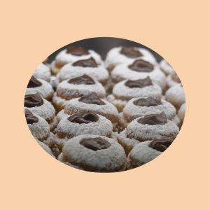 Pasticcini pasta frolla e cioccolato - Sapore Milano