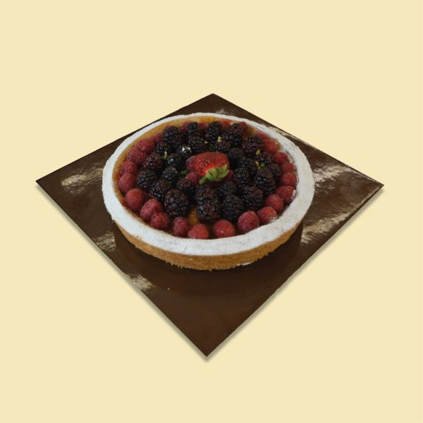 Crostata frutti di bosco - frutta fresca - Sapore Milano